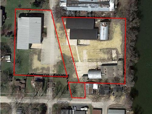 Vacant Industrial Facility : Oregon : Ogle County : Illinois