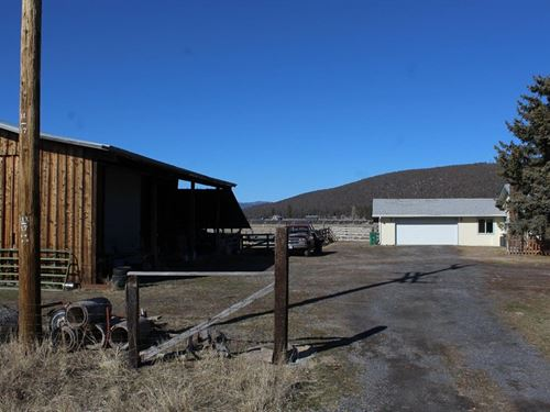 Updated Farm on 24+ Acres : Dairy : Klamath County : Oregon