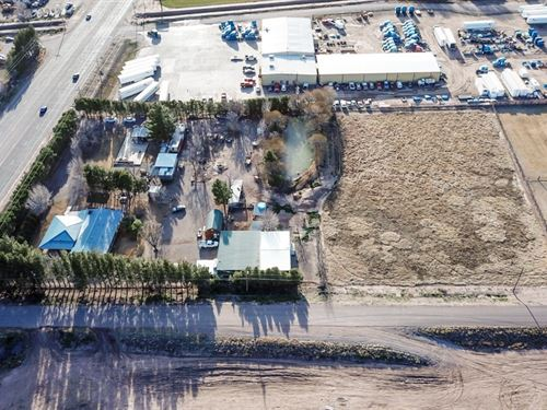 Industrial Property With Home Shop : Las Cruces : Dona Ana County : New Mexico