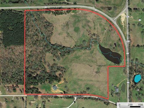 Horse Property Recreational Land : Scroggins : Franklin County : Texas