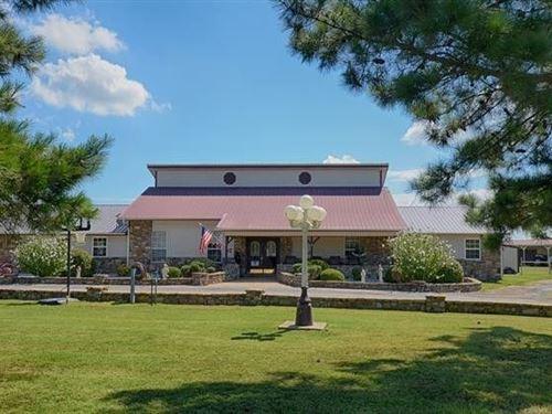 Custom Built Home 2.5 Acres Kerr : Sallisaw : Sequoyah County : Oklahoma