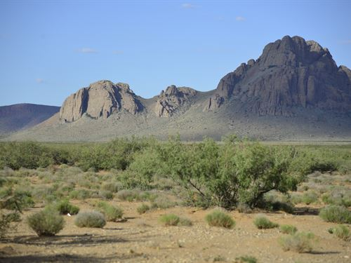 Amazing View of Florida Mountains : Deming : Luna County : New Mexico
