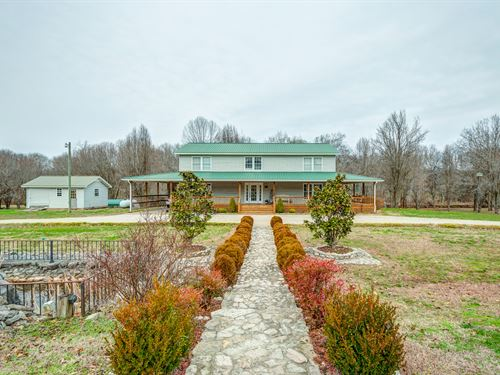 Gorgeous Home & Land on Pristine : Lobelville : Perry County : Tennessee