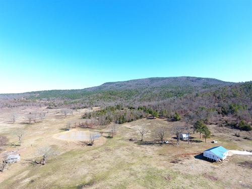 Cavanal Ranch Hunting Cattle Land : Poteau : Le Flore County : Oklahoma