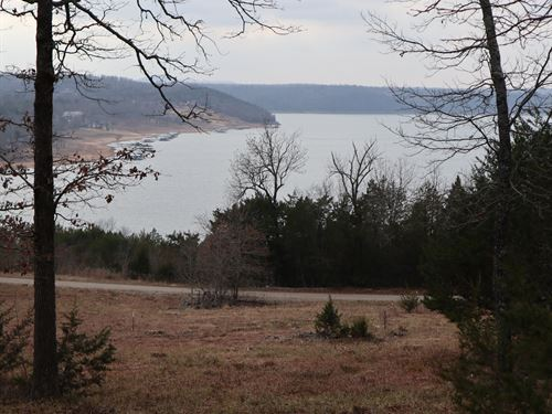 Land With Lake Norfork Views In AR : Gamaliel : Baxter County : Arkansas