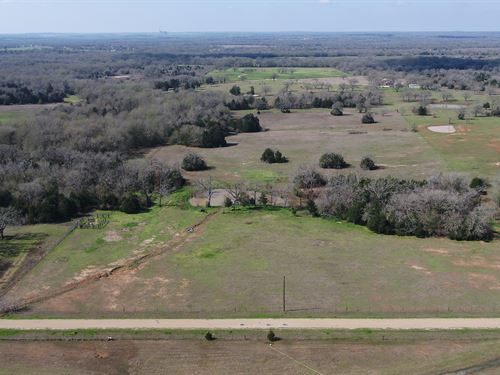 18.711 Acres Ready for Home : Rockdale : Milam County : Texas