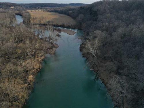 Gasconade River Bottom 232 Acres : Waynesville : Pulaski County : Missouri