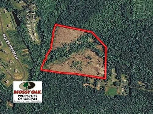 Under Contract, 28.8 Acres of Hun : Troy : Fluvanna County : Virginia