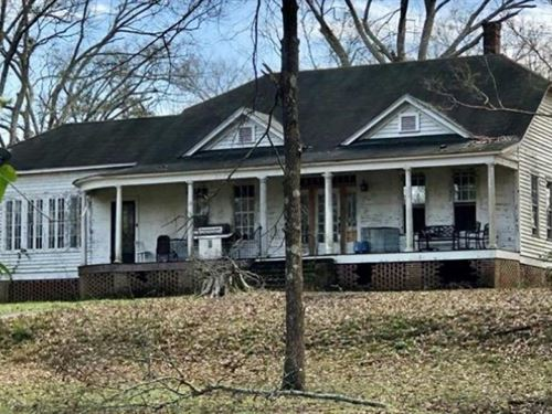 1.53 Acres With A Home In Lawrence : Monticello : Lawrence County : Mississippi