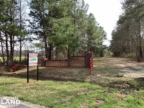 Bennette Farm And Recreational Trac : Manning : Clarendon County : South Carolina
