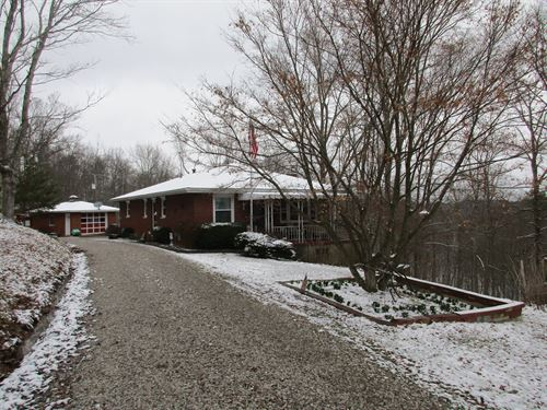 Ranch Style Home Located In WV : Saint Marys : Pleasants County : West Virginia