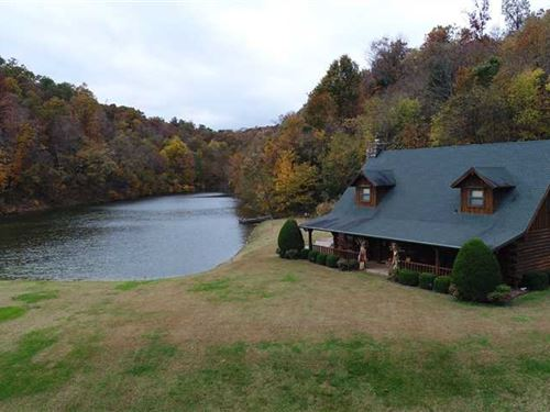Arkansas Executive Ranch for Sale : Sulphur Springs : Benton County : Arkansas