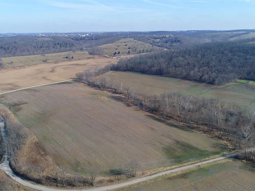 Important Land Auction In Indiana : Brookville : Franklin County : Indiana