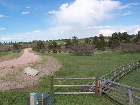 36 Fenced Acres With Mountain View : Larkspur : Douglas County : Colorado