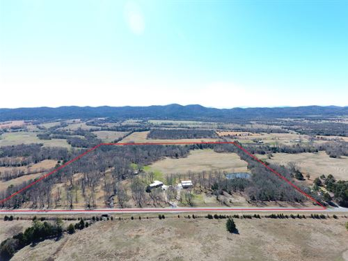 40 Acre Buffalo Mountain Ranch : Talihina : Latimer County : Oklahoma