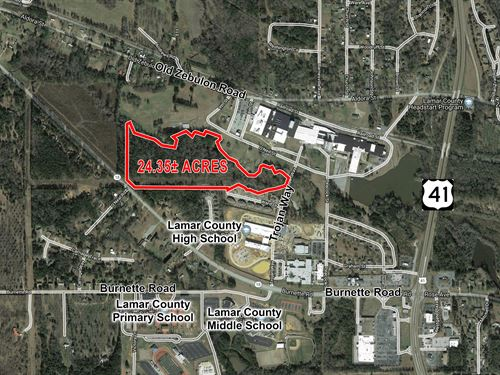 Lamar County Georgia Land for Sale : LANDFLIP