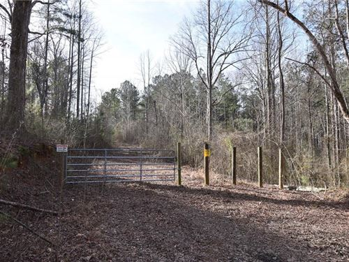 Wooded Acreage for Sale in Paulding : Rockmart : Paulding County : Georgia