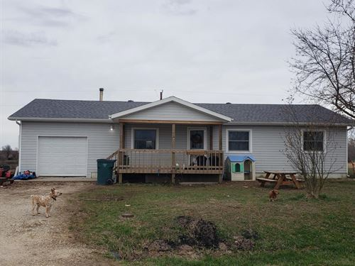 3 Bed, Updates, On Small Acerage : Seymour : Webster County : Missouri