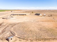 NM Equine 40 Ac Home & 11 Stall : Estancia : Torrance County : New Mexico