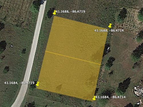 .47 Acre Land for Sale, Monterey : Monterey : Pulaski County : Indiana