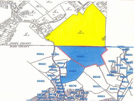 454 +/- Ac in Jones & Bibb Counties : Macon : Jones County : Georgia