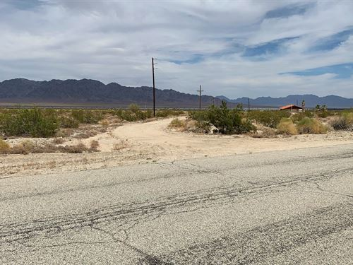 Beautiful Res/Farm Land, $397/Mo : Desert Center : Riverside County : California
