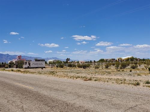 Corner Lot, 1 Hr From Vegas, $234/M : Charleston View : Inyo County : California