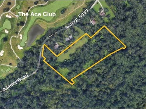 7.52 Acre Private Wooded Site : Lafayette Hill : Montgomery County : Pennsylvania