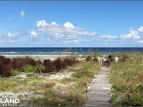 Ponce Inlet Beachfront Property : Ponce Inlet : Volusia County : Florida