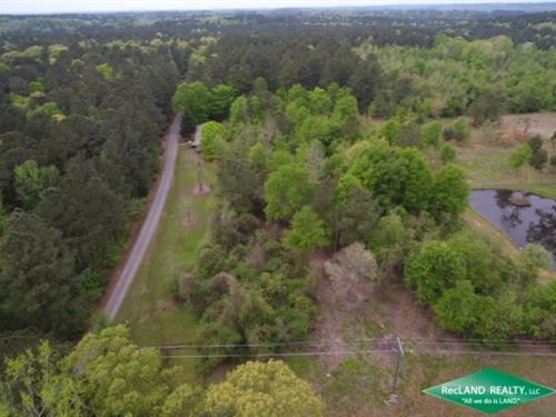 7.4 Ac, Wooded Tract For Home Site : Downsville : Union Parish : Louisiana