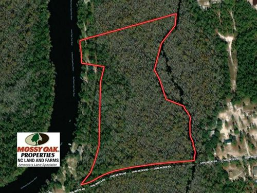 21 Acres of Residential And Huntin : Rocky Point : Pender County : North Carolina