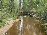 Wooded Acreage With Creek : Anderson : South Carolina