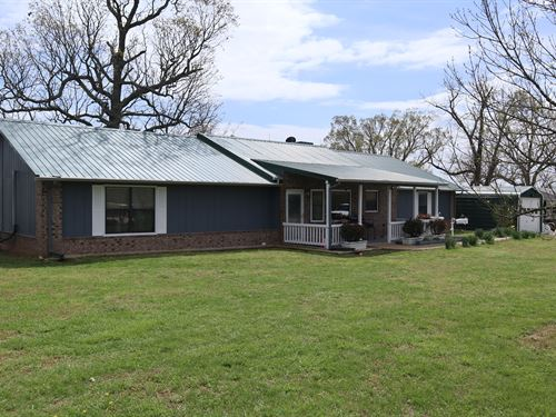 Ozarks Country Home with Lake : Salem : Fulton County : Arkansas