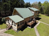 Lakefront Country Home + Acreage : Shirley : Van Buren County : Arkansas