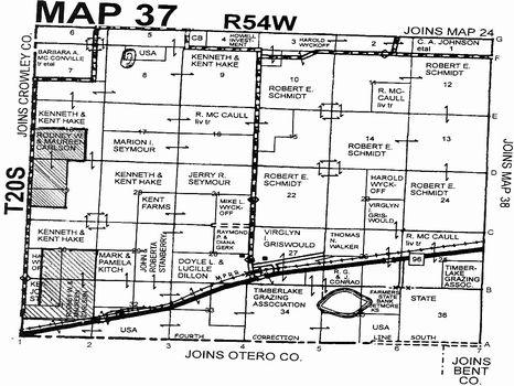 1006.7 acres CRP (L1333) : Sugar City : Kiowa County : Colorado