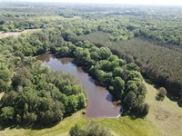 Premier Hunting Tract with Lake : Letohatchee : Lowndes County : Alabama