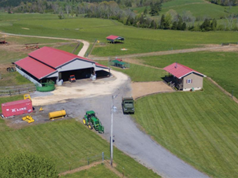 Prime Farm in Sweetwater Valley : Philadelphia : Roane County : Tennessee