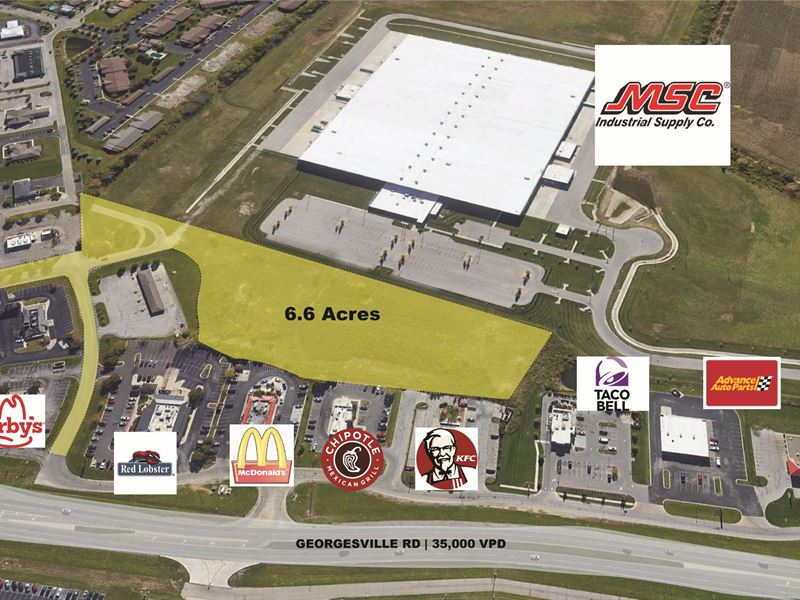 6.65Ac Next to Lowe's & Kroger : Columbus : Franklin County : Ohio