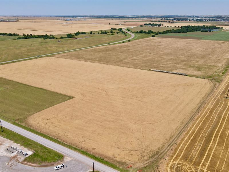 Land Auction, 72 Ac Buy All or Part : Calumet : Canadian County : Oklahoma