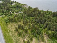 6.13 Acres With Ocean And Mountain : Ninilchik : Kenai Peninsula Borough : Alaska