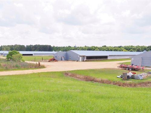 Mississippi Poultry Land For Sale Poultry Property For Sale Landflip