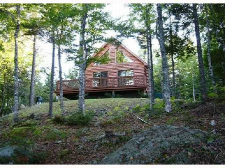 Cabin On Cathance Lake : Cooper : Washington County : Maine