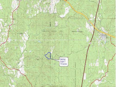 Adams Roxie Rd. 3 : Natchez : Adams County : Mississippi