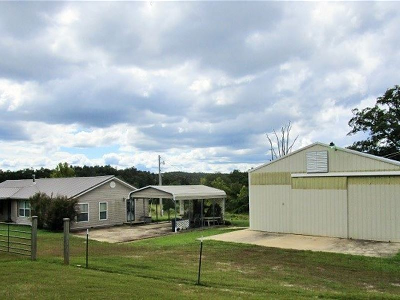 Farm Recreational Land & Home : Doniphan : Ripley County : Missouri