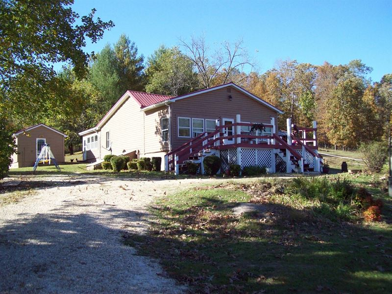Home & 150 Acre Farm Piedmont : Piedmont : Wayne County : Missouri