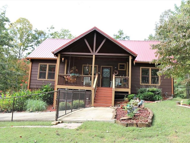 Mountain Cabin for Sale in Gilmer : Ellijay : Gilmer County : Georgia