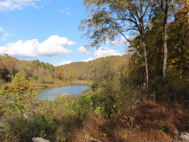 River Front, Fishing Land for Sale : Pottersville : Ozark County : Missouri