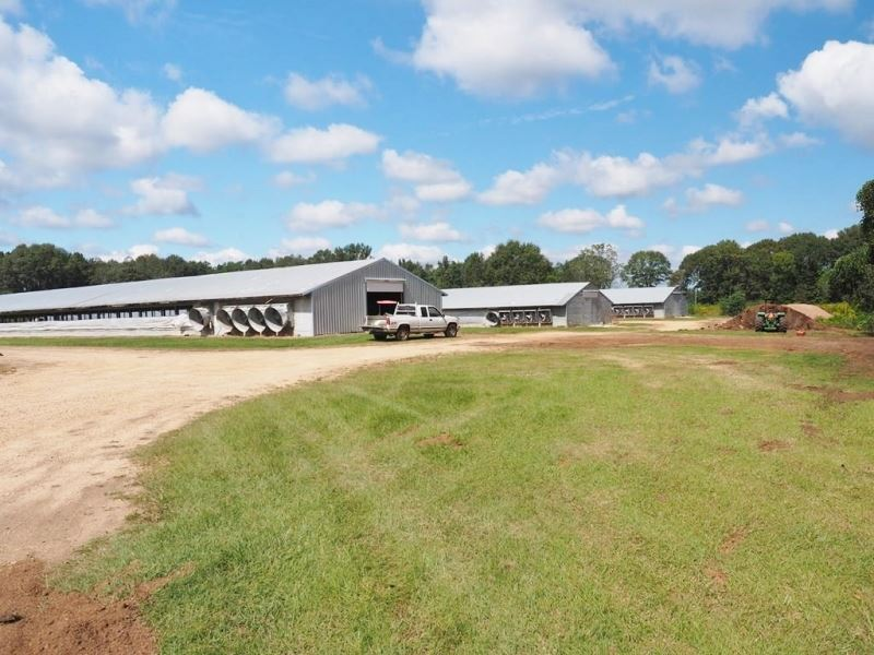 Breeder Poultry Farm, 2 Homes : Kokomo : Marion County : Mississippi