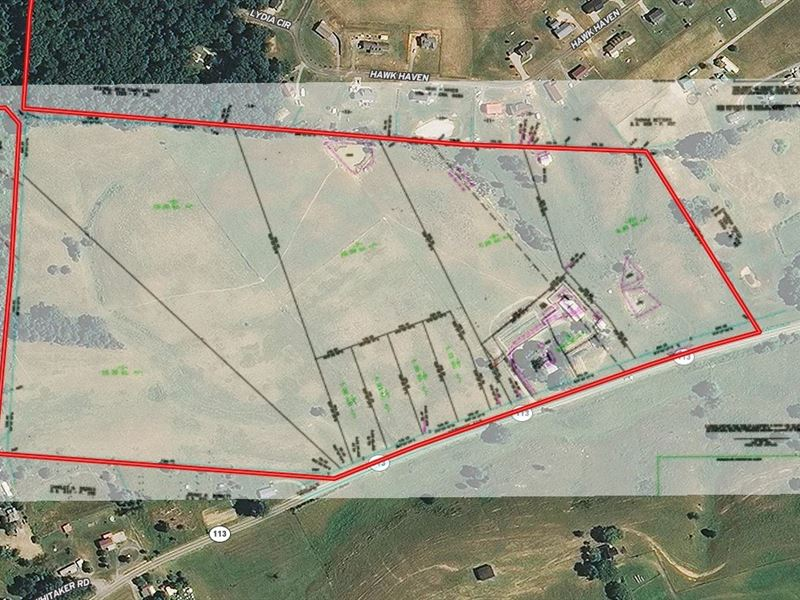 1.15 Acres Unrestricted Land East : Bulls Gap : Hawkins County : Tennessee