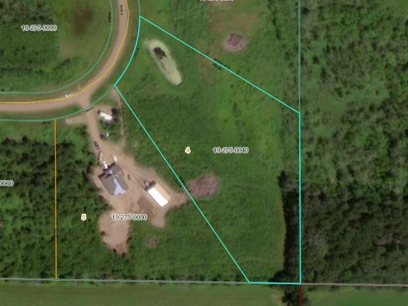 3.55 Acre Great Building Site : Foreston : Mille Lacs County : Minnesota